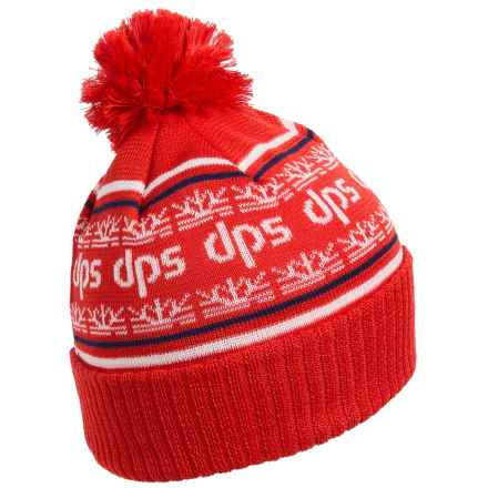DPS Haines Pom Beanie (For Men and Women) in Red - Closeouts