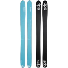 DPS Nina 99 Hybrid Alpine Skis - Matte Finish (For Women) in See Photo - Closeouts