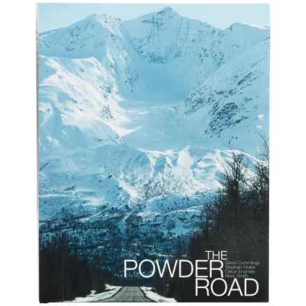 DPS Skis The Powder Road Book in Hardcover - Closeouts