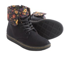 Dr. Martens Clover Boots (For Little Kids) in Black - Closeouts