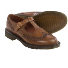 Dr. Martens Mabel Mary Jane Shoes - Leather (For Women) in Hazelnut - Closeouts