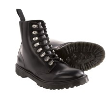 Dr. Martens Reid Lace-Up Leather Boots (For Men) in Black - Closeouts