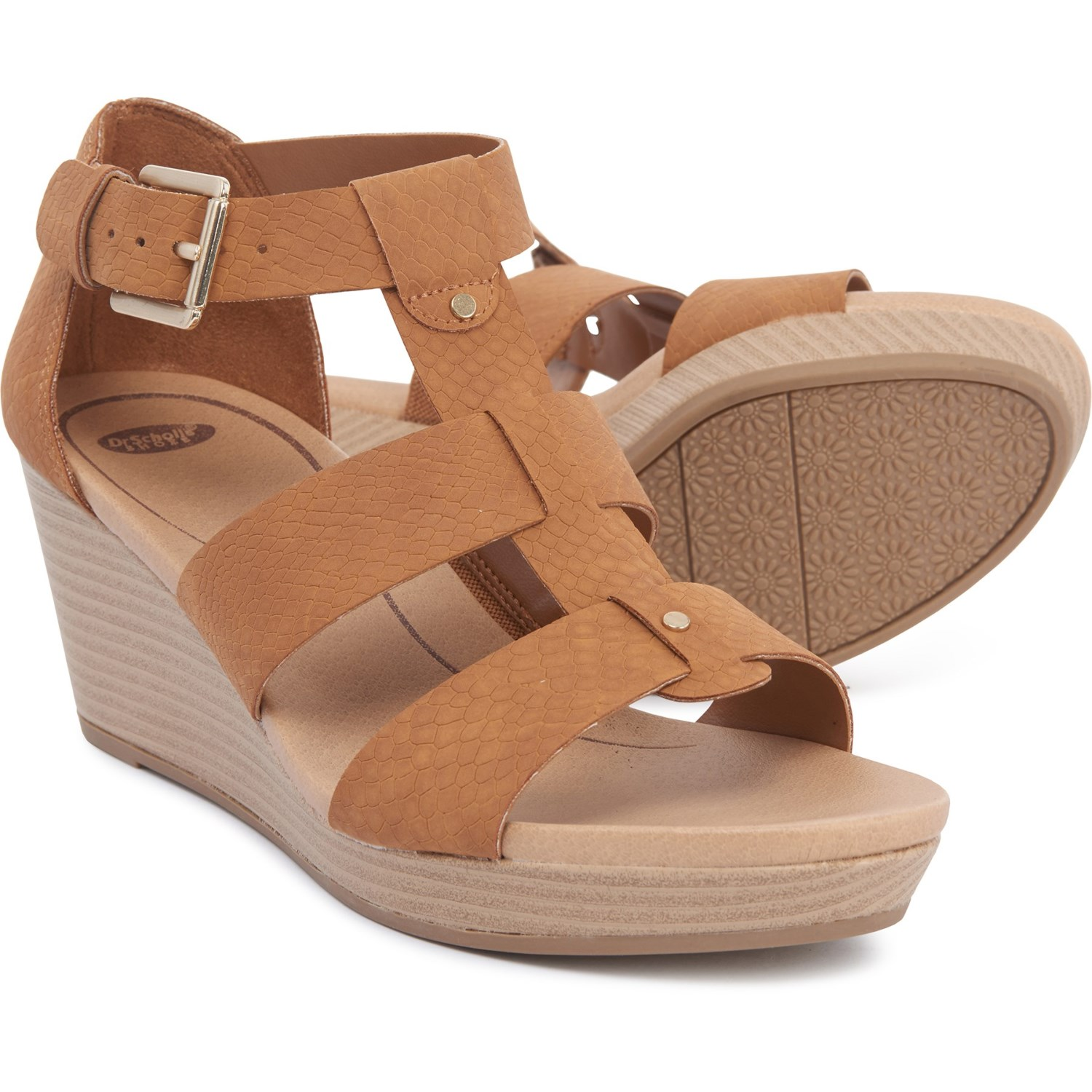 6c6dac92a58 Dr. Scholl's Babs Wedge Sandals (For Women)