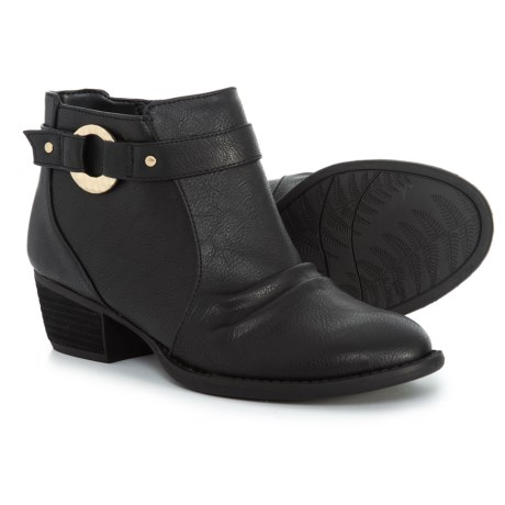 a1438288c7ec Dr. Scholl s Buckle Strap Ankle Booties (For Women) - Save 63%