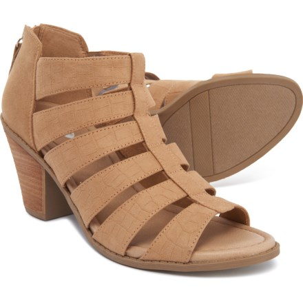 6d8726d2d Dr. Scholl's Chaser Heeled Sandals (For Women) in Nude