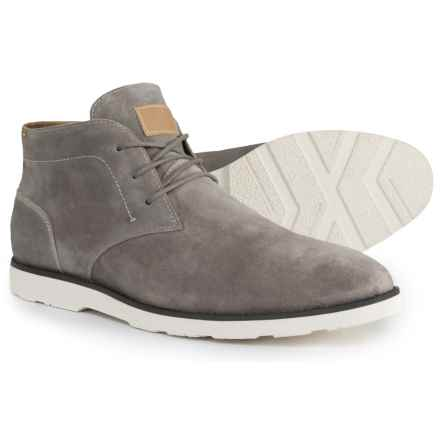 Dr. Scholl's Chukka Boots - Suede (For Men) in Grey Cowsuede - Closeouts