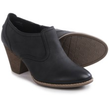 Dr. Scholl's Codi Ankle Boots - Faux Leather (For Women) in Black - Closeouts