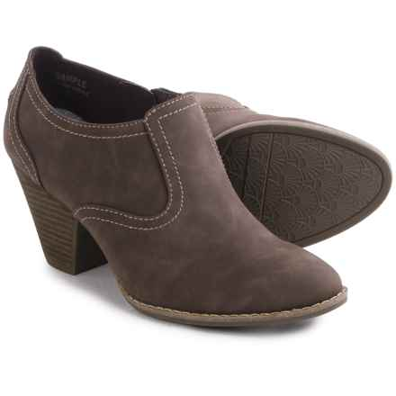 Dr. Scholl's Codi Ankle Boots - Faux Leather (For Women) in Brown - Closeouts