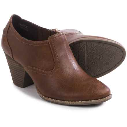 Dr. Scholl's Codi Ankle Boots - Faux Leather (For Women) in Whiskey - Closeouts