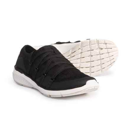 Dr. Scholl's Crisscross Lace-Up Sneakers (For Women) in Black - Closeouts