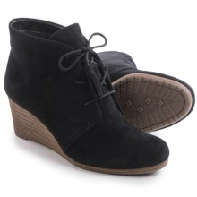 Dr. Scholl's Dakota Wedge Ankle Boots (For Women) in Black - Closeouts