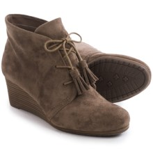 Dr. Scholl's Dakota Wedge Ankle Boots (For Women) in Stucco - Closeouts