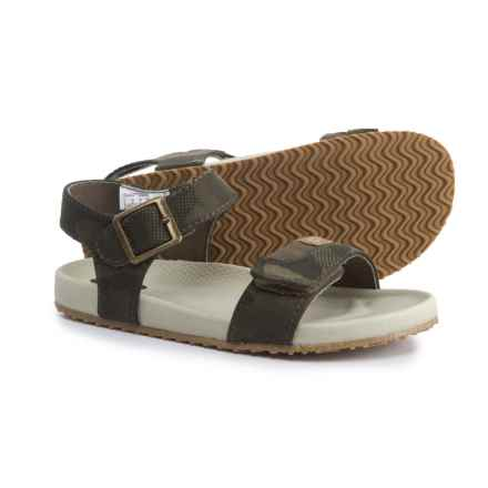 Dr. Scholl's Footbed Sandals (For Boys) in Camo - Closeouts