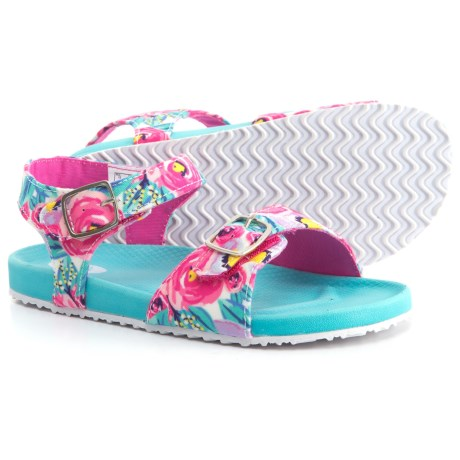 Dr. Scholl's Footbed Sandals (For Girls) in Floral