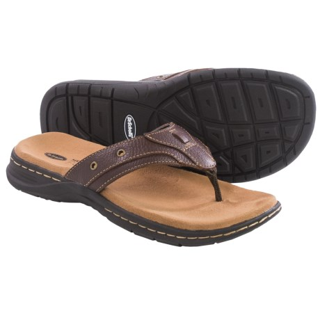 Dr. Scholl's Garth Leather Flip Flops (For Men)