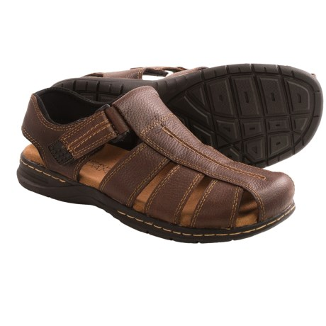 Dr. Scholl's Gaston Fisherman Sandals Leather (For Men)