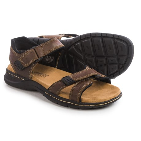 Dr. Scholl's Gus Sandals Leather (For Men)