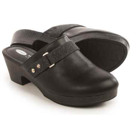 Dr. Scholl's Jessa Clogs (For Women) in Black - Closeouts