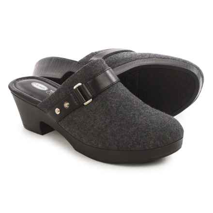 Dr. Scholl's Jessa Clogs (For Women) in Charcoal - Closeouts