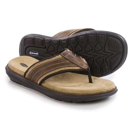 Dr. Scholl's Kip Flip Flops Leather (For Men)