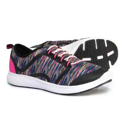 Dr. Scholl's Lightweight Sneakers (For Girls) in Black/Hot Pink - Closeouts