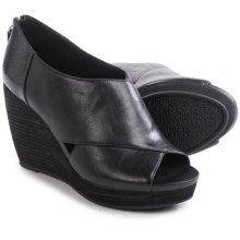 Dr. Scholl's Monarch Wedge Shoes (For Women) in Black - Closeouts