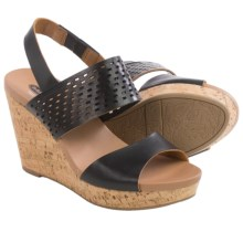 Dr. Scholl's Move It Wedge Sandals (For Women) in Black - Closeouts