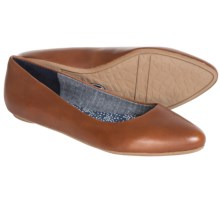 Dr. Scholl's Really Shoes - Flats (For Women) in Tan Leather - Closeouts