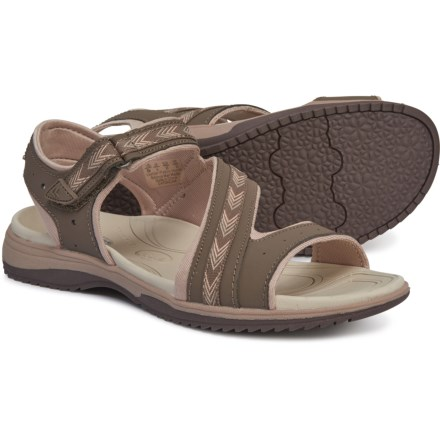 e8290fdfcc7b Dr. Scholl s River Sport Sandals - Leather (For Women) in Taupe - Closeouts