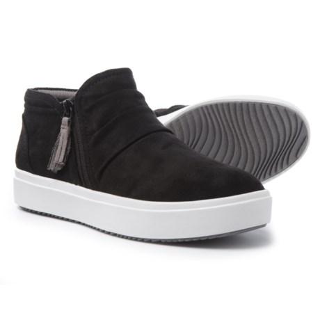 Dr. Scholl's Side-Zip Sneaker Boots (For Women) in Black