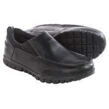 Dr. Scholl's Slide Moc Toe Shoes - Slip-Ons (For Men) in Black - Closeouts