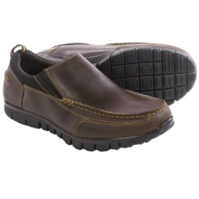Dr. Scholl's Slide Moc Toe Shoes - Slip-Ons (For Men) in Brown - Closeouts
