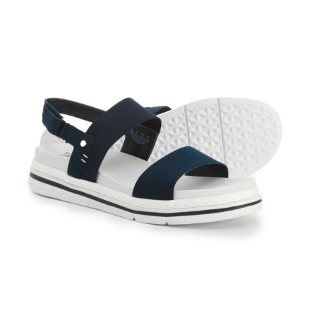 109cdd6feeb6 Dr. Scholl s Two-Band Sandals - Vegan Leather (For Women) in Navy
