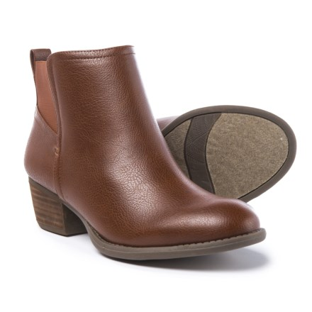 655ed2e4b95 Dr. Scholl s Vegan Leather Ankle Boots (For Women) in Whiskey - Closeouts