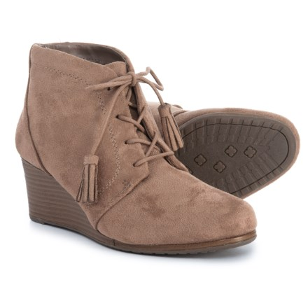 7098a6a77ae9 Dr. Scholl s Wedge Ankle Booties (For Women) in Stucco