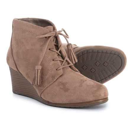 Dr. Scholl's Wedge Ankle Booties (For Women) in Stucco