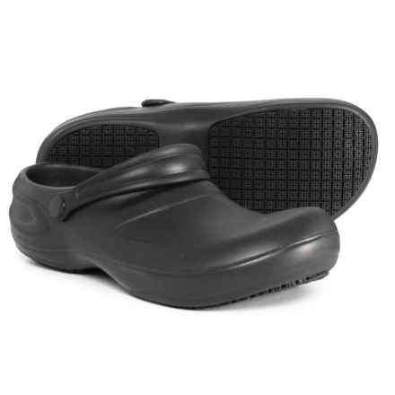 Dr. Scholl's Work Clogs (For Men) in Black - Closeouts