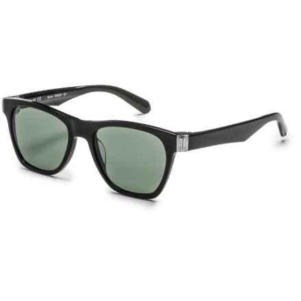 Dragon Alliance 502S Monte Wayfarer Sunglasses in Shiny Black - Closeouts