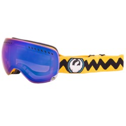 Dragon Alliance APXS Snowsport Goggles in Yellow Gigi Ruf/Blue Steel