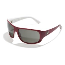 Dragon Alliance Brigade Sunglasses in Crimson Grain/Grey - Closeouts