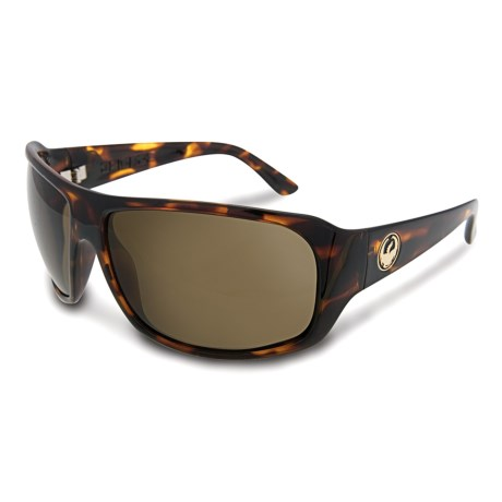 Dragon Alliance Brigade Sunglasses in Tortoise/Bronze