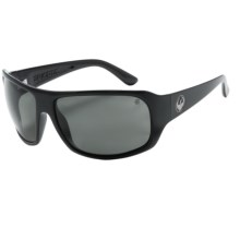 Dragon Alliance Brigade Sunglasses - Polarized in Jet/Grey - Closeouts