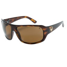 Dragon Alliance Brigade Sunglasses - Polarized in Tortoise/Bronze - Closeouts