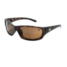 Dragon Alliance Chrome 2 Sunglasses - Polarized in Matte Tort/Bronze - Closeouts