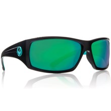 Dragon Alliance Cinch Sunglasses in Jet Teal/Green Ion - Closeouts