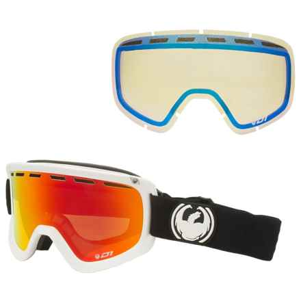 Dragon Alliance D1 OTG Ski Goggles - Extra Lens in Inverse/Red Ion/Yellow Blue - Closeouts