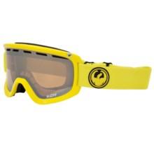 Dragon Alliance D1 Ski Goggles in Vivid/Ionized - Closeouts