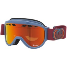 Dragon Alliance D1XT Snowsport Goggles - Extra Lens in Icefire/Red Ionized/Yellow Blue Ionized - Closeouts