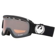 Dragon Alliance D2 Snowsport Goggles in Coal/Ionized - Closeouts