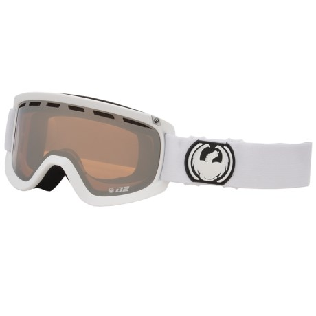 Dragon Alliance D2 Snowsport Goggles in Powder/Amber